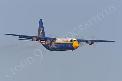 BA - C-130 00030 Lockheed C-130 Hercules USN BLUE ANGELS by Peter J Mancus