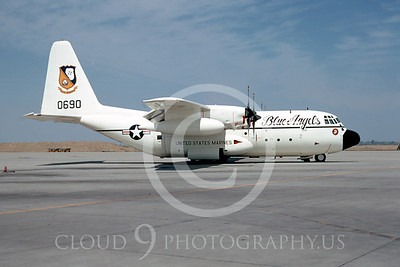 BA-C-130 00001 Lockheed C-130 Hercules Lemoore 1972 by Peter J Mancus