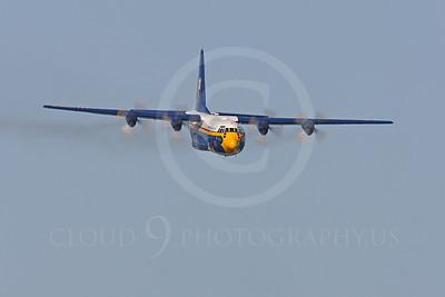 BA - C-130 00014 Lockheed C-130 Hercules USN BLUE ANGELS by Peter J Mancus