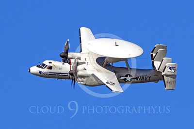 E-2USN 00102 US Navy Grumman E-2C Hawkeye 164493 VAW-77 at a US Naval Aviation Centennial airshow, by Peter J Mancus