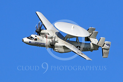 E-2USN 00230 US Navy Grumman E-2C Hawkeye 164493 VAW-77 at a US Naval Aviation Centennial airshow, by Peter J Mancus