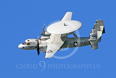 E-2USN 00006 US Navy Grumman E-2C Hawkeye 164493 VAW-77 at a US Naval Aviation Centennial airshow, by Peter J Mancus