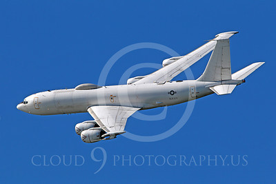 E-6 00012 A US Navy Boeing E-6 Mercury in flight at a US Naval Centennial airshow, by Peter J Mancus