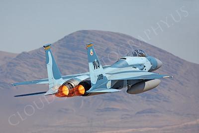 AB-F-15USAF 00282 McDonnell Douglas F-15 Eagle USAF 80018 Aggressor by Peter J Mancus