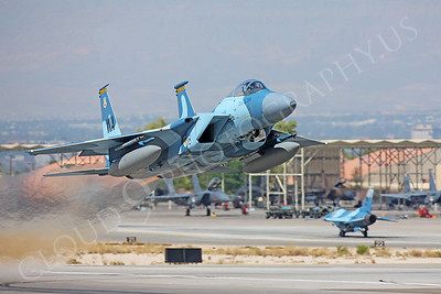 AGGR 00068 McDonnell Douglas F-15 Eagle USAF Nellis AFB by Peter J Mancus
