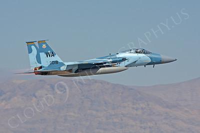 AGGR 00066 McDonnell Douglas F-15 Eagle USAF Aggressor 90018 by Carl E Porter