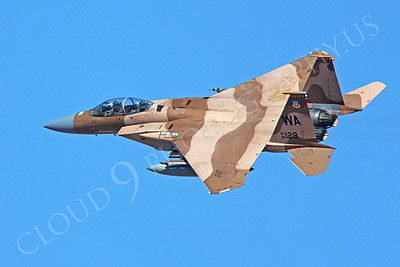 AGGR 00052 McDonnell Douglas F-15 Eagle USAF 85129 Aggressor by Peter J Mancus