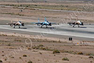 AGGR 00019 McDonnell Douglas F-15 Eagles USAF AGGRESSOR WA by Peter J Mancus