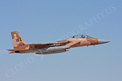 AGGR 00070 McDonnell Douglas F-15 Eagle USAF 85129 Aggressor by Carl E Porter