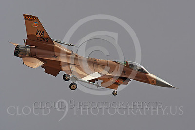 AGGR 00006 Lockheed Martin F-16 Fighting Falcon US Air Force by Peter J Mancus
