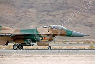 AGGR 00023 Lockheed Martin F-16 Fighting Falcon USAF AGGRESSOR by Peter J Mancus