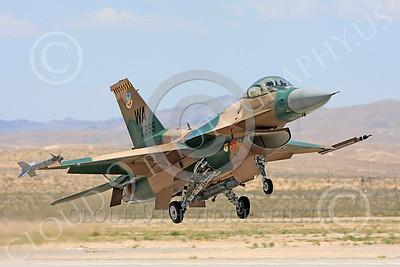 AGGR 00178 A USAF Lockheed Martin F-16 Fighting Falcon jet fighter, 86299, WA code, 57th Wing AGGRESSOR, on final to land at Nellis AFB, military airplane picture, by Carl E Porter