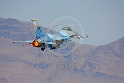 AB-F-16USAF 00102 Lockheed Martin F-16 USAF 90751 Aggressor by Peter J Mancus