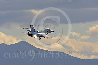 AGGR 00012 Lockheed Martin F-16 Fighting Falcon US Air Force by Peter J Mancus
