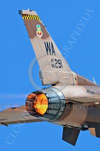 AB-F-16USAF 00013 Lockheed Martin F-16 USAF 86291 Aggressor by Peter J Mancus