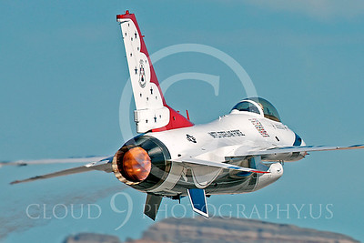 TB - F-16 00020 Lockheed Martin F-16 Fighting Falcon USAF THUNDERBIRDS by Peter J Mancus