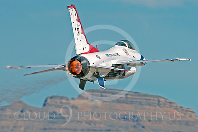 TB - F-16 00066 Lockheed Martin F-16 Fighting Falcon USAF THUNDERBIRDS by Peter J Mancus