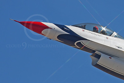 CUNMJ 00039 Lockheed Martin F-16 Fighting Falcon Viper USAF Thunderbirds by Peter J Mancus