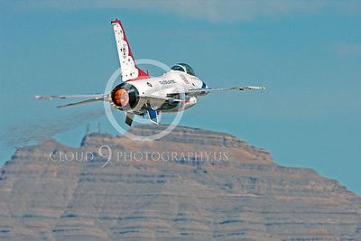 TB - F-16 00010 Lockheed Martin F-16 Fighting Falcon USAF THUNDERBIRDS by Peter J Mancus