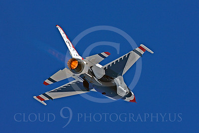 TB - F-16 00080 Lockheed Martin F-16 Fighting Falcon USAF THUNDERBIRDS by Peter J Mancus