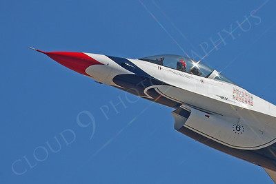 CUNMJ 00244 Lockheed Martin F-16 Fighting Falcon Viper USAF Thunderbirds by Peter J Mancus