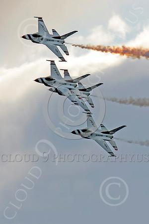TB-F-16 00079 Lockheed Martin F-16 Fighting Falcon THUNDERBIRDS by Peter J Mancus
