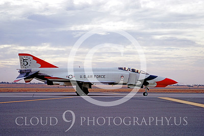 TB-F-4 00003 McDonnell Douglas F-4 II Edwards AFB 30 Oct 1971 by Peter B Lewis