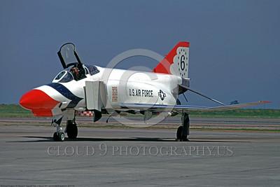 TB-F-4 00005 McDonnell Douglas F-4E 15 May 1971 Hamilton AFB by Peter J Mancus DONE