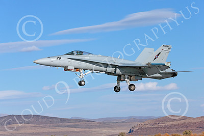 TOPG 00072 A landing Boeing F-18C Hornet jet fighter USN TOP GUN NAS Fallon 10-2013 military airplane picture by Peter J Mancus