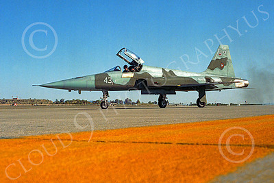 F-5USN 00012 Northrop F-5E Freedom Fighter US Navy 43 TOPGUN MCAS Yuma by Peter J Mancus