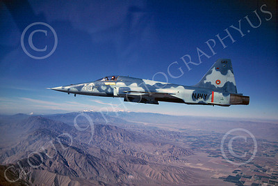 F-5USN 00008 Northrop F-5E Freedom Fighter US Navy 159881 TOPGUN 1981 by Peter J Mancus