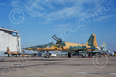 F-5USN 00014 Northrop F-5E Freedom Fighter US Navy 542 TOPGUN NAS Miramar August 1980 by Peter J Mancus