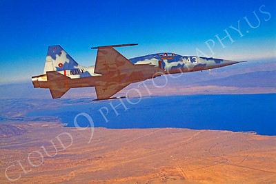 TOPG 00003 Northrop F-5E Freedom Fighter US Navy 543 TOP GUN June 1985 by Peter J Mancus