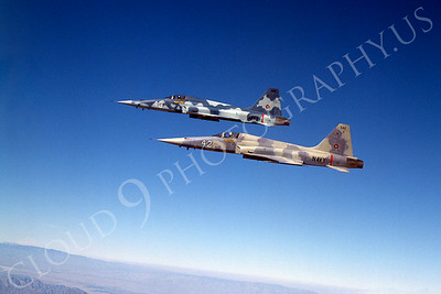 TOPG 00002 Northrop F-5E Freedom Fighter US Navy 542 TOP GUN June 1985 by Peter J Mancus