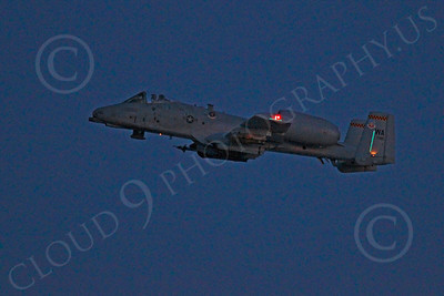 A-10USAF 00258 Fairchild Republic A-10 Thunderbolt II USAF by Peter J Mancus