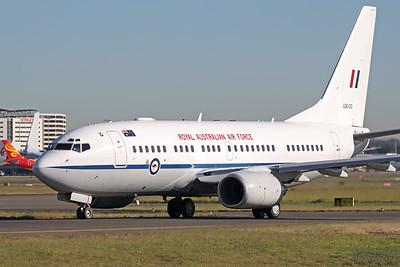 A36-001   Boeing 737-7DT BBJ   Royal Australian Air Force