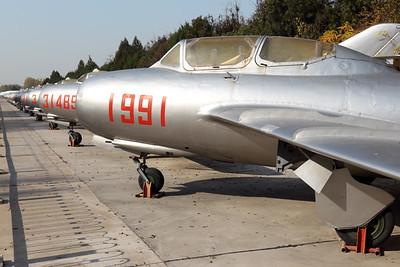 1991   Mikoyan-Gurevich MiG-15UTI   Chinese Air Force