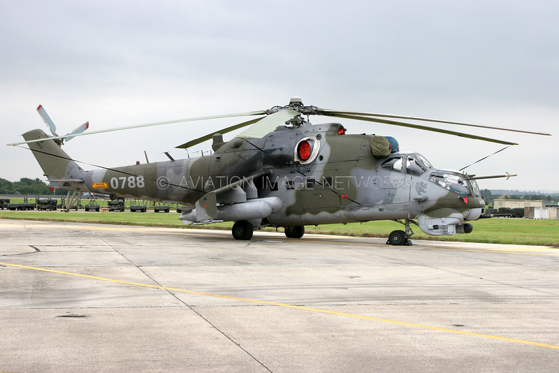 0788 | Mil Mi-24V Hind E | Czech Republic Air Force