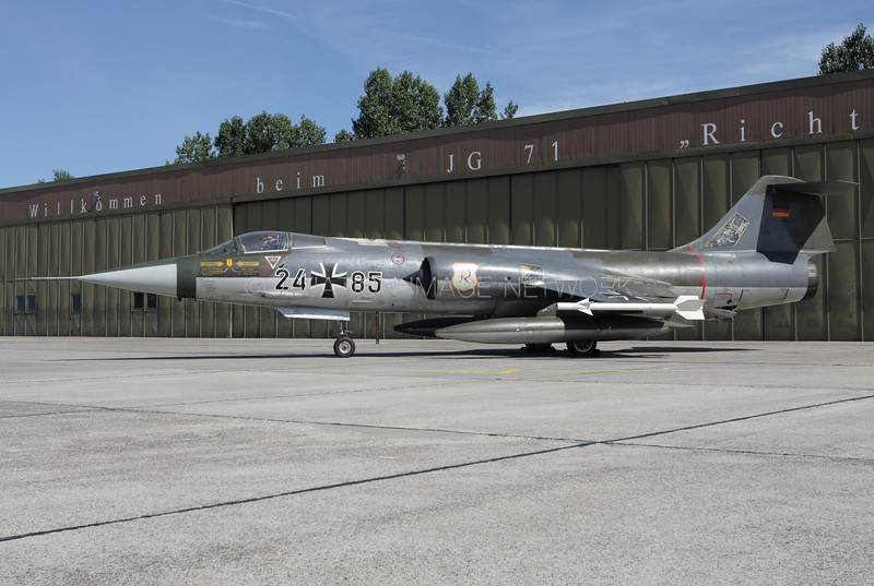 24 + 85 | Lockheed F-104G Starfighter | German Air Force