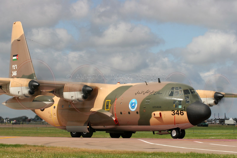 346 | Lockheed C130H | Jordanian Air Force