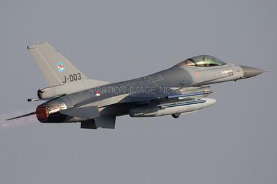 J-003 | General Dynamics (Fokker) F-16AM | Royal Netherlands Air Force