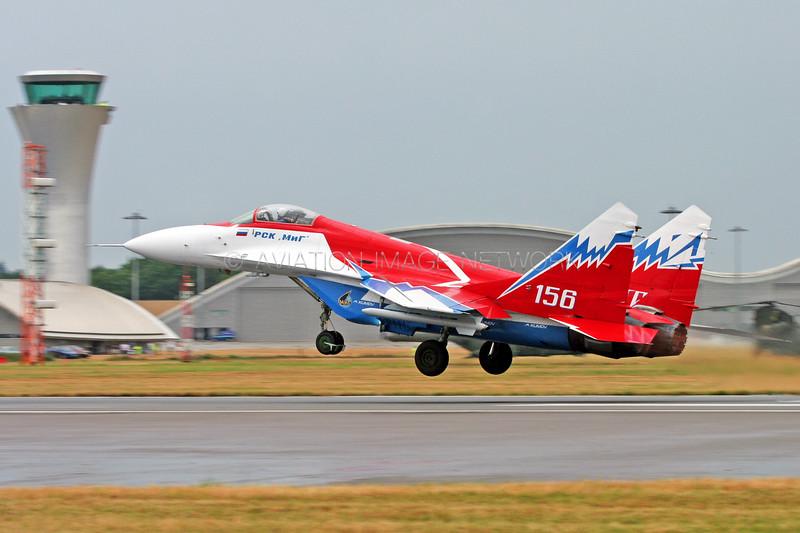156   Mikoyan-Gurevich MiG-29OVT Fulcrum   Russian Aircraft Corporation MiG