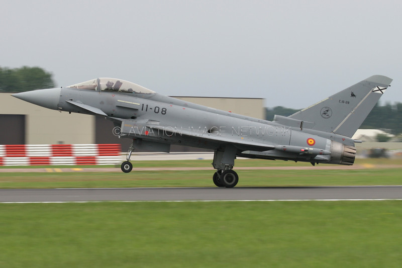 C.16-28 | Eurofighter Typhoon EF2000 | Spanish Air Force