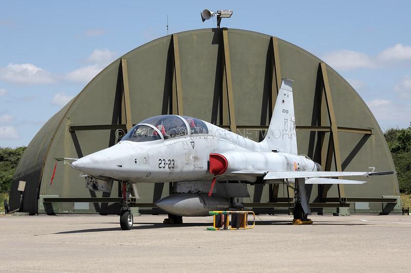 AE9-001 | Northrop (CASA) SF-5B(M) Fredom Fighter | Spanish Air Force
