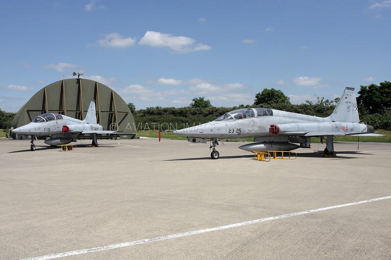AE9-005 | Northrop (CASA) SF-5B(M) Fredom Fighter | Spanish Air Force