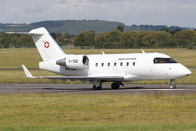 T-752 | Bombardier Challenger 604 | Swiss Air Force
