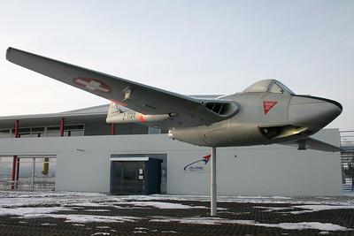 J-1156 | De Havilland DH100 Vampire FB.6 | Swiss Air Force