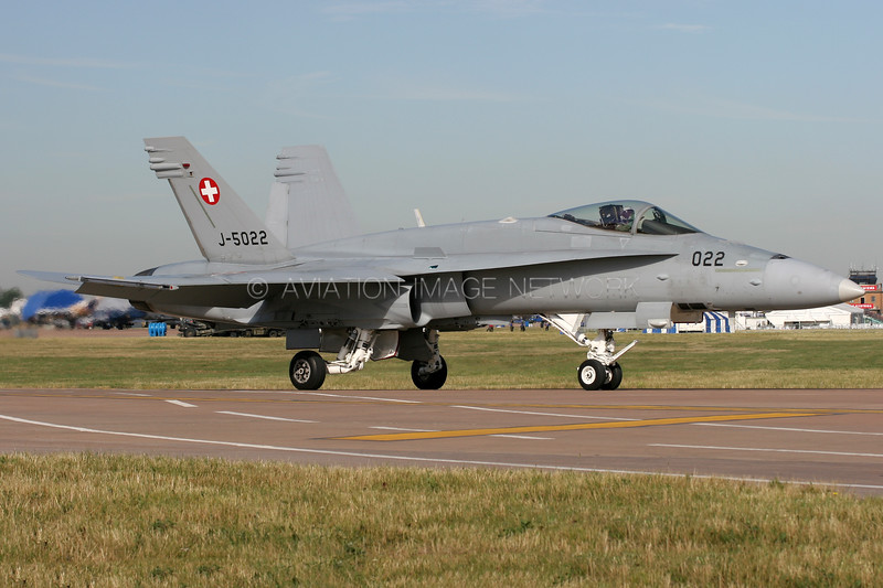 J-5022 | McDonnell Douglas F/A-18C Hornet | Swiss Air Force