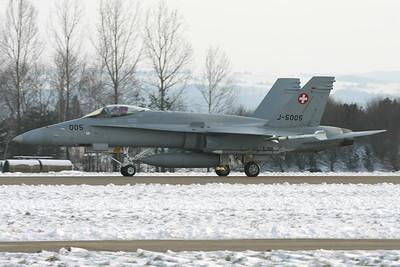 J-5005 | McDonnell Douglas F/A-18C Hornet | Swiss Air Force