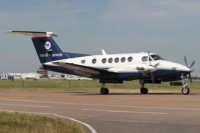 ZK452 | Beechcraft B200 Super King Air | Royal Air Force